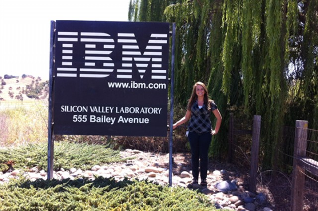 English alumna Ameliah Tawlks shares IBM internship