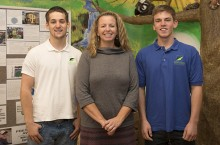 IGBA interns with Missy Nergard