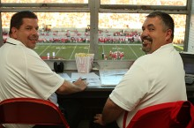 Craig and Mike in the booth