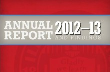 Annual Report and Findings cover art