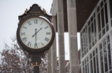 Old Union Building clock