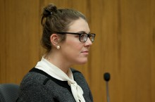 Katie Campbell on the stand