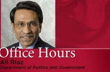 Ali Riaz Office Hours graphic