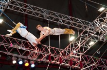 Christopher Ries on trapeze