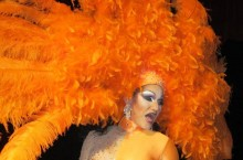 image of charity drag show