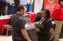 Illinois State University career fair