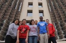 Students from Richards Career Academy in Chicago had a chance to explore the Illinois State campus thanks to a partnership between their teacher, Colleen Burger and the Chicago Teacher Education Pipeline .