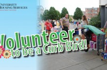 Volunteer Curb Bird graphic