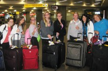 MCN Students at Airport