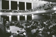 Capen Auditorium in 1971