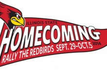 logo for ISU Homecoming 2014
