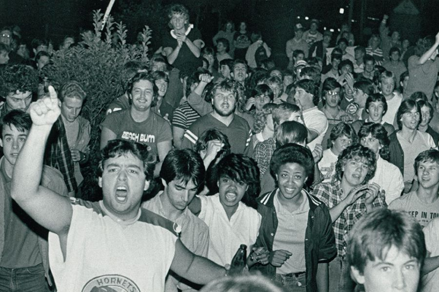 Oral History Of Isus Beer Riot 30 Years Later News Illinois State
