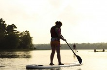 Person on paddleboard