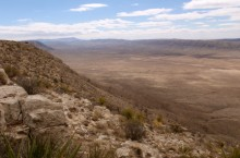 image of the Guadalupe Mountains