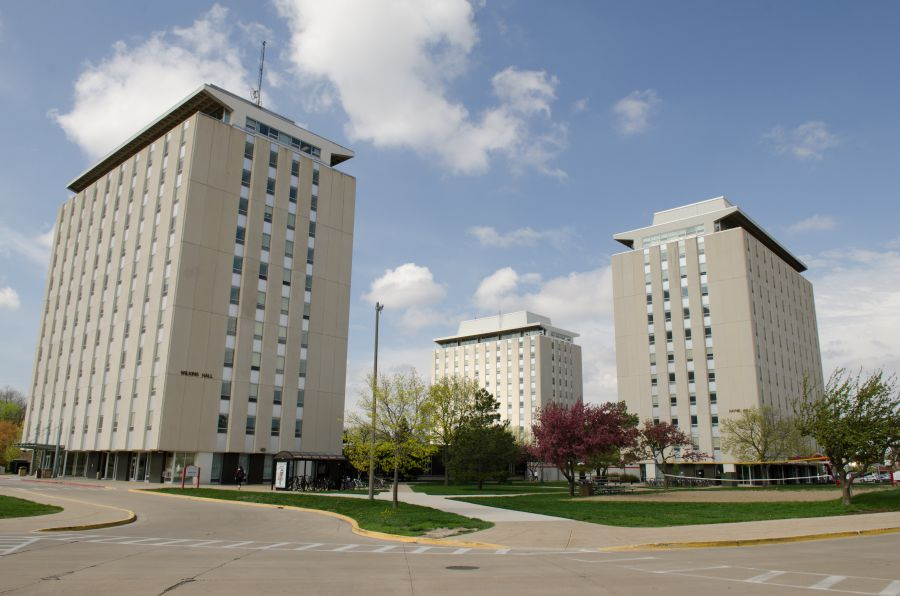 This is Tri-Tower at ISU
