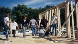 image of Habitat for Humanity build