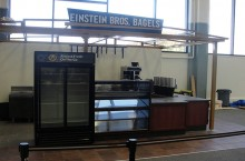 Einstein Bros. Bagels at Milner Library