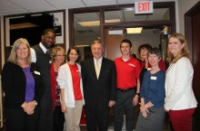 U.S. Senator Durbin at MCN Simulation Lab