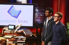 Kasey and Mike on Shark Tank TV show