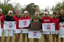 Redbird women's golf team makes history