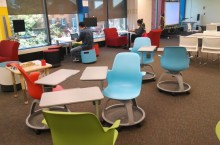 Studio TEaCH, a high-tech environment built and designed for current and aspiring educators