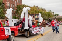 Philosophical Society at the Homecoming parade
