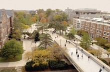 image of the Illinois State University Quad