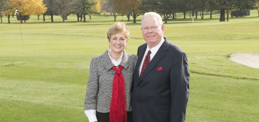 A drive to give back: Alumni couple makes record-setting gift