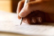 image of writing