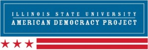logo for the American Democracy project at Illinois State University