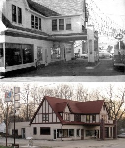 Sprague's Super Service then and now