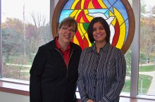 Mary Volle Cranston and Blanca Miller were selected for the Illinois Nurse Leader Fellowship