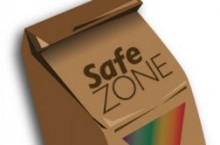 iameg of Safe Zone brown Bag logo
