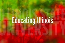 image of the Educating Illinois report cover
