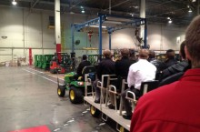 Students visit Deere HQ