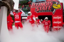 Redbirds exit the tunnel