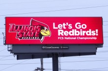 Redbirds digital signs