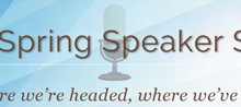 image of the Spring Speaker Series 2015 logo