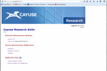 Cayuse Landing Page Spring 2015