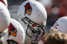 Redbird football helmets