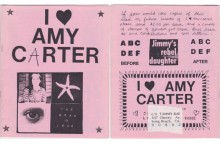 I Heart Amy Carter Cover2