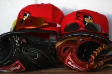 Illinois State Baseball equipment