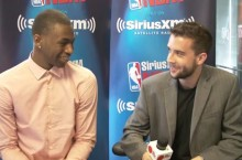 Scott Gleeson interviewing top prospect Andrew Wiggins