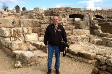 photo of Michael Gizzi in Israel