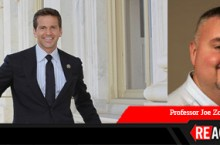 Reactions banner with Aaron Schock and Joe Zompetti
