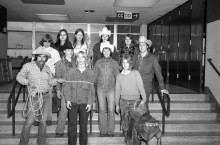 rodeo team in 1975