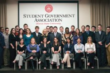 SGA leaders in 2008