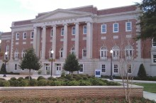 image of Foster Auditorium at the University of Alabama