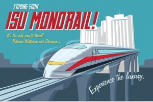 Monorail poster