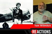image of Amelia Earhart and Tom Willlmitch